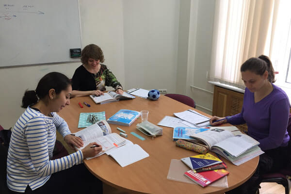 Russian language school